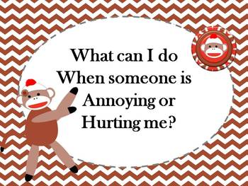 """Sock Monkey """"Talk It Out"""" Conflict Resolution"""