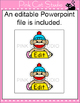 Sock Monkey Name Tags and Labels