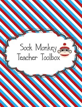 Sock Monkey Theme Teacher Toolbox