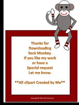 Sock Monkey Through the Year