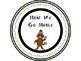 Sock Monkey Transportation Tags