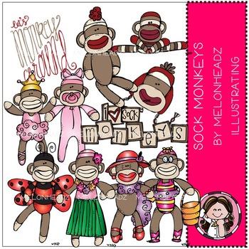 Sock Monkeys by Melonheadz COMBO PACK
