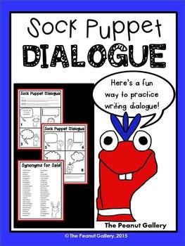 Sock Puppet Dialogue