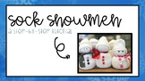 Sock Snowman Tutorial #warmupwithsped2