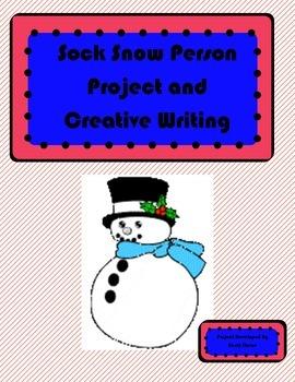Sock Snowperson Creative Writing