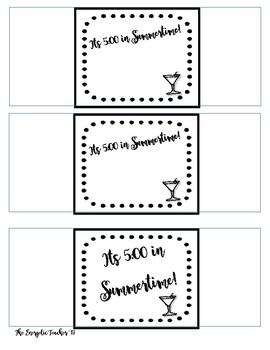 Sock Tags for Teacher Gifts
