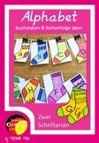 Socken Alphabet - Das Deutsche Alphabet lernen und üben