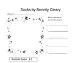 Socks Common Core Character Analysis