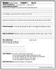 Socks Comprehension Packet