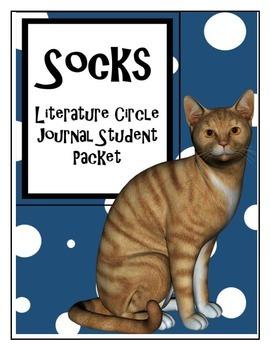 Socks Literature Circle Journal Student Packet