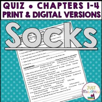 Socks Quiz (Ch. 1-4)