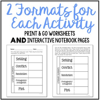 Socks by Beverly Cleary Novel Study Unit Activities, In 2 Formats