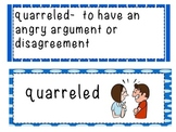 """""""Socks"""" by Beverly Cleary Vocabulary Cards"""