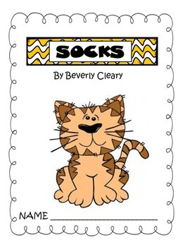 Socks by Beverly Cleary (comprehension packet and test)