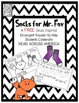 Socks for Mr. Fox -  A FREE Suess Inspired Emergent Reader