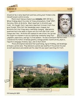 Socrates, Plato & Aristotle: Greece by Don Nelson