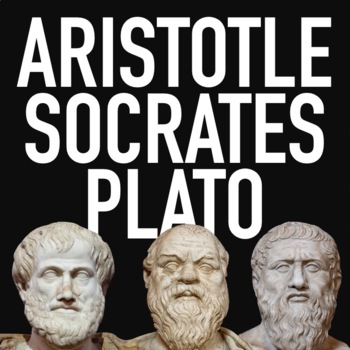 Socrates, Plato and Aristotle Lesson