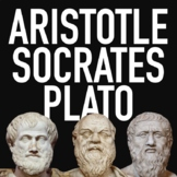 Socrates, Plato and Aristotle Lesson