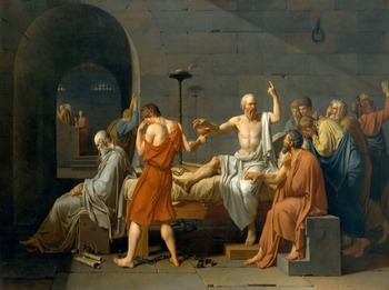 """Socrates - Recreate """"The Death of Socrates"""" Painting"""