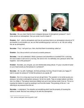Socrates v/s Einstein - The Science Dialog