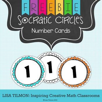 Socratic Circles Number Cards