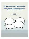 Socratic Class Discussion for ELA with Student Coaching