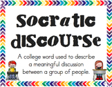 Socratic Discourse Posters