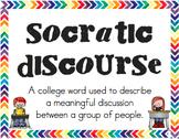Socratic Discourse Posters