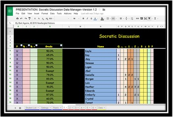 Socratic Seminar Data Manager