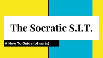 Socratic S.I.T. (Speaking Intelligently Together)