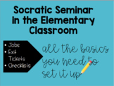 Socratic Seminar in the Elementary Classroom