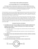Socratic Seminar Activity Guidelines