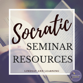 Socratic Seminar Lesson Materials, Critical Thinking & Inquiry for ANY Text