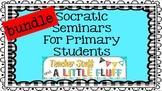 Virtual Classroom or In-Person:  Socratic Seminar Bundle