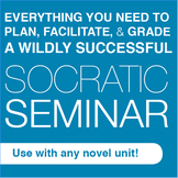 Socratic Seminar Bundle: Plan, facilitate, & grade awesome discussions!