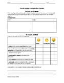Socratic Seminar Communication Checklist