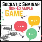 Socratic Seminar Practice Game FREEBIE