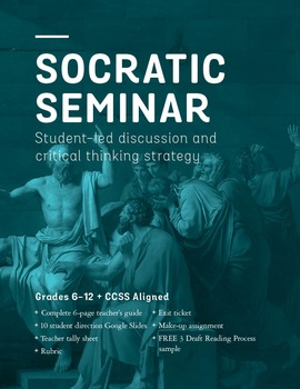 Socratic Seminar Critical Reading and Thinking