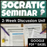 Socratic Seminar Unit Teaching Discussion Skills With Questions and Lesson Plans