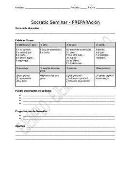 Socratic Seminar - En Español