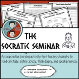 Socratic Seminar -  Engaging Discussion Assessment for Reading - All Contents