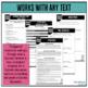 Socratic Seminar Flipbook and Editable Handouts
