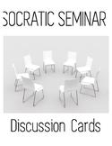 Socratic Seminar Sentence Frames/ Cue Cards / Group Discus