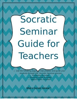 Socratic Seminar Guide for Teachers (Common Core)