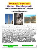 Socratic Seminar: Pharaoh Hatshepsut of Ancient Egypt