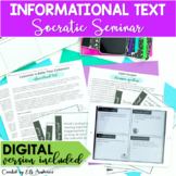 Socratic Seminar Informational Text Speaking Listening Pra