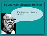 Socratic Seminar Introduction PowerPoint