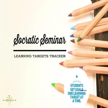 Socratic Seminar Learning Targets Tracker