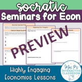 Socratic Seminar Materials for the Economics Classroom!