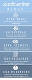 Socratic Seminar Norms & Rules Poster!